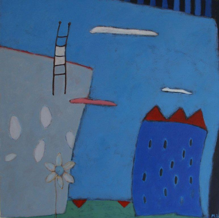 blauw huis, acryl op paneel, 60x60.jpg