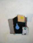 blauwe fles, gem.techniek op doek, 50x40.jpg